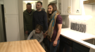 Eight-year-old sees renovated home