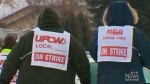 Co-op strike slows business, nearby store says