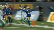 Bombers face Roughriders in West semifinal