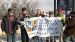 University of Lethbridge rally