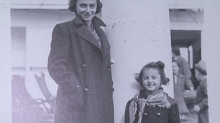 Ana Maria Gordon was just four years old when this picture of her and her mother was taken aboard the MS St. Louis in 1939.