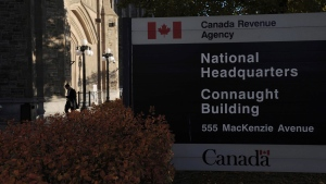 The Canada Revenue Agency headquarters in Ottawa is shown on November 4, 2011. THE CANADIAN PRESS/Sean Kilpatrick
