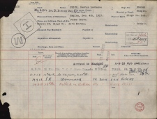 The casualty record for Pvt. George Lawrence Price