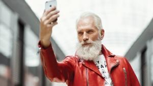 Fashion Santa at Yorkdale mall