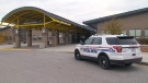 Durham Regional Police at Ontario Shores Centre for Mental Health Sciences after a male patient was found seriously wounded on Nov. 8, 2018.
