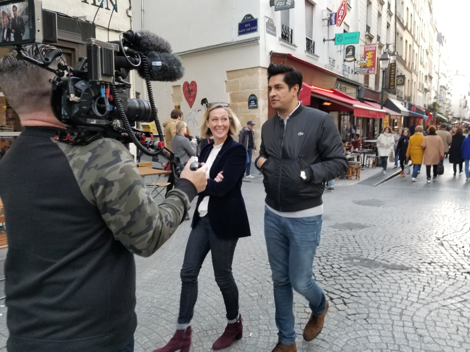 Sugar Sammy gives us a tour of his adopted Paris neighbourhood, the 2nd Arrondissement (Paul Haber / W5)