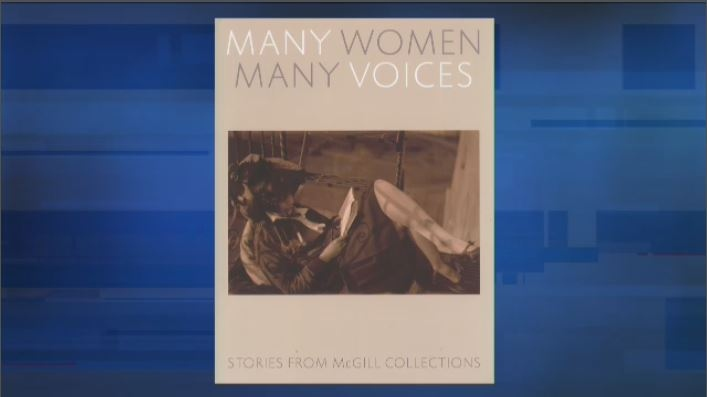 The book 'Many Women, Many Voices: Stories from McGill collections,' was officially released on Thursday, November 8. (CTV Montreal)