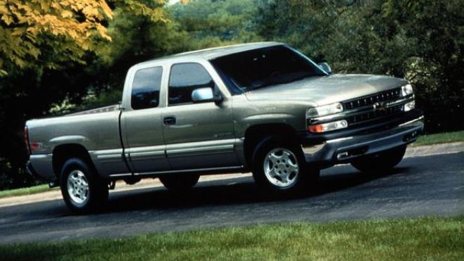 OPP released this image of a grey 2006 Chevrolet Silverado pickup truck. A similar vehicle was seen in the area where three bodies were found in Middlesex County, Ont.