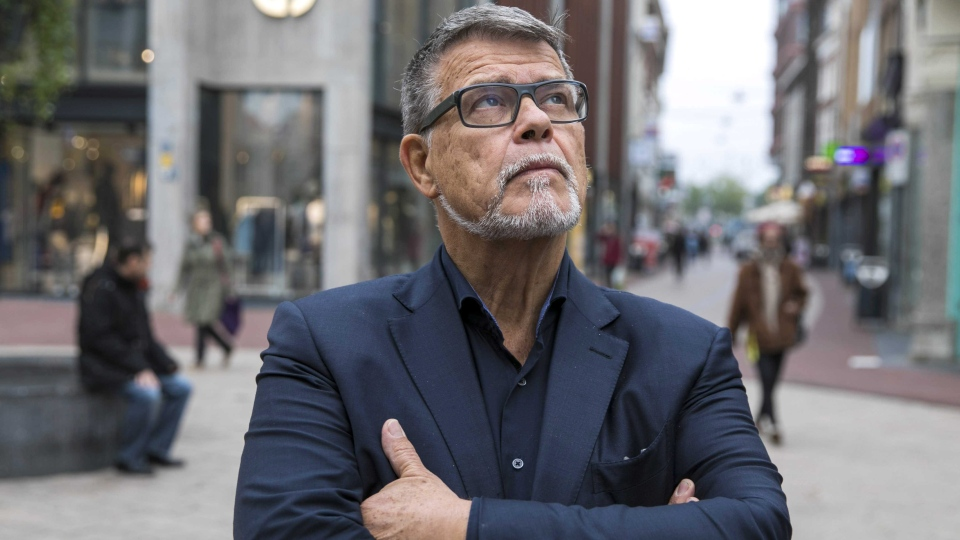Emile Ratelband poses for a photo in the centre of Arnhem, The Netherlands, 05 November 2018 (issued 08 November 2018). EPA/ROLAND HEITINK