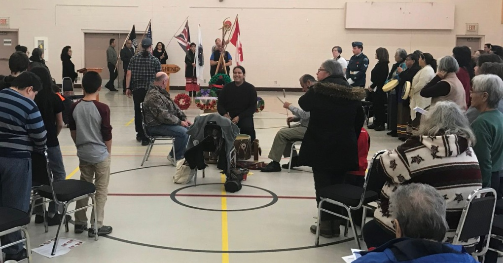 National Aboriginal Veterans Day ceremony