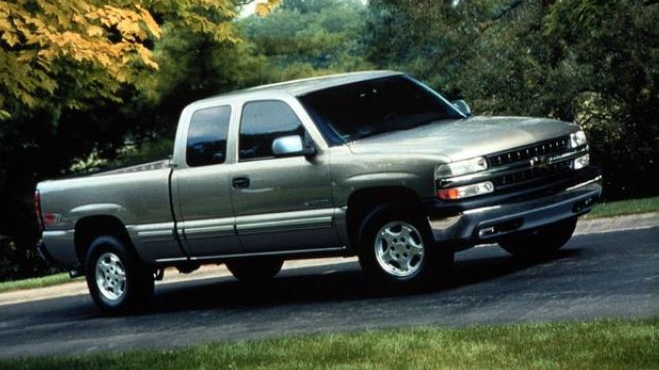 Police are looking for anyone who may have seen a pickup truck like this one in the area. (Source: Middlesex County OPP)