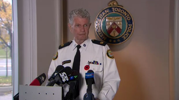 Toronto Police Supt. Ron Taverner rescinded his resignation from the Toronto police force and will return to his old job. (File)