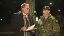 CTV Northern Ontario's Brendan Connor talks to Major Dan Brisson of Sudbury about the Cadet movement.