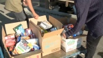 Lethbridge - food drive