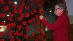 The poppy project was the brainchild of church member Pippa Fitzgerald Finch, who had seen something similar in England and has personal reasons for remembrance.