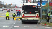 Fatal pedestrian crash in Scarborough