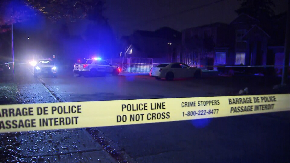 Police respond to a shooting in Surrey's Newton neighbourhood that left a man dead early Friday morning.