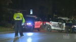 Three pedestrians struck by vehicles overnight