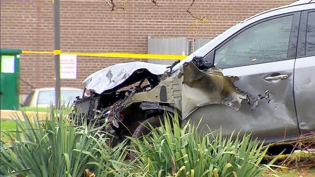 Woman killed in Scarborough crash