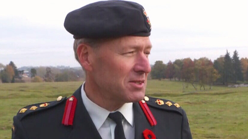 Col. Alexander Schwab speaks about his grandfather's service during the First World War. (CTV)