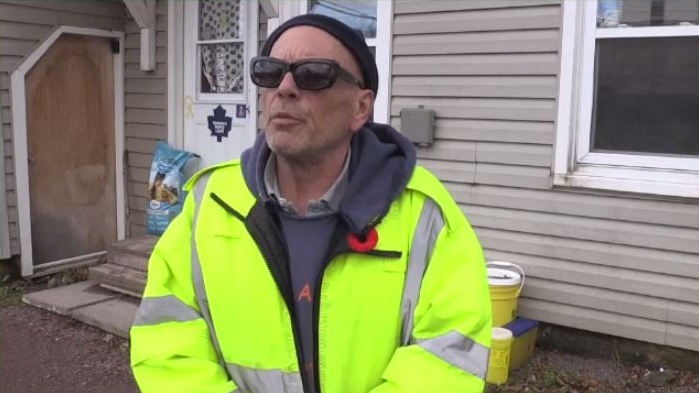 Richard Hyslop created Needle Dogs Moncton to keep dirty needles off the streets and out of the wrong hands.