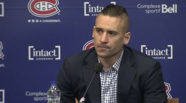 Montreal Canadiens centre Tomas Plekanec announced he's being put on waivers.