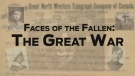 Faces of the Fallen, The Great War