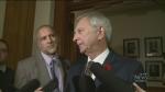 Higgs names new cabinet, sworn in as Premier