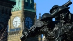 The National War Memorial in Ottawa is shown on Friday Nov. 10, 2017. THE CANADIAN PRESS/Sean Kilpatrick