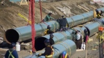 Keystone XL pipeline expansion construction
