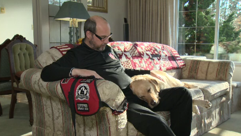 Stephane Marcotte was diagnosed with PTSD after he served 28 years in the Canadian military.