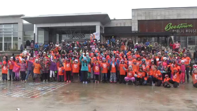 "The Waterloo participants of ""Dance for Kindness."" (Nov. 10, 2018)"