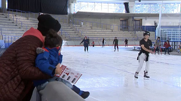 The Olympic Oval was open to the public on Saturday so that people could learn more about the Calgary 2026 bid and experience the world-class facility.