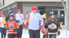 Canada Winter Games torch