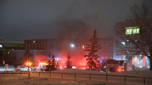 A pair of explosions closed the Strathcona County Community Centre on Nov. 6, 2018.