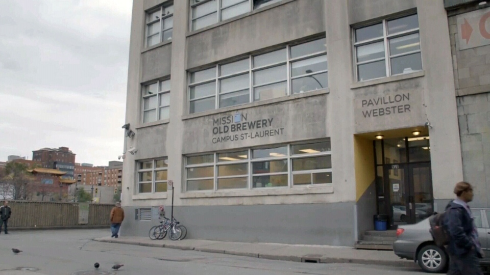 The Old Brewery Mission in Montreal helps provide housing to homeless vets, which also providing physical and mental health care.
