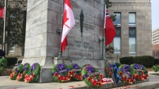 remembrance day kitchener cenotaph