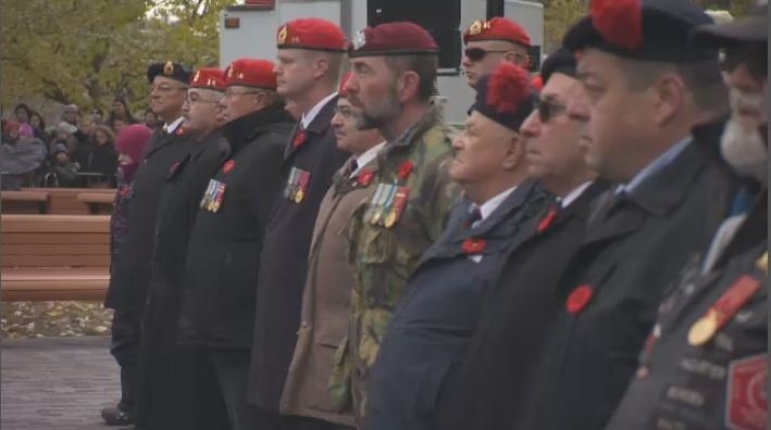 Remembrance Day ceremony Montreal