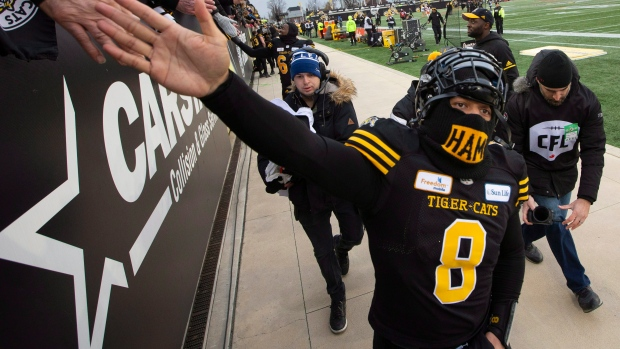 Masoli leads Ticats past Lions 48-8 in East Division semifinal ... 461b6d2e6