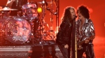 Steven Tyler and Joe Perry perform at the MTV Video Music Awards at Radio City Music Hall on Monday, Aug. 20, 2018, in New York. (Photo by Chris Pizzello/Invision/AP)