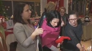 Caroline Bourgeois is vying to become the borough's mayor. Her opponent is Ensemble Montreal's Manuel Guedes. The election is December 16.