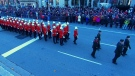 Thousands line the streets at war memorial