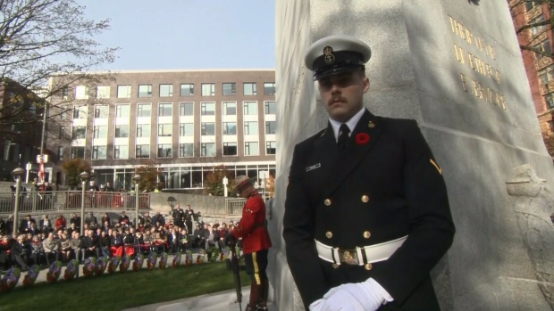 Remembrance Day in Vancouver