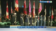 Remembrance Day, Bombers semi win: Morning Live