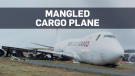 Crews tear into crashed cargo jet in Halifax