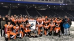 The St. John's Tigers beat the Elmwood Giants at Investors Group Field to take the Winnipeg High School Football League championship. (Source: Twitter/The Winnipeg High School Football League)