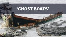 'Ghost boats' wash up on Japanese coast