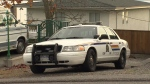 The man was struck during the incident in the area of Pacific Avenue and Dolphin Street early Sunday morning.