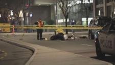 downtown victoria crash