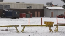 Timmins police are investigating after a body was found on the property of the Porcupine Mall.